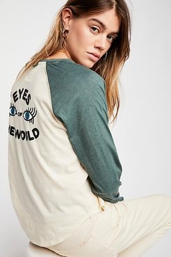 Eyes Of The World Tee by CAMP Collection at Free People