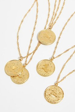Ascending Medallion Necklace by CAM Jewelry at Free People