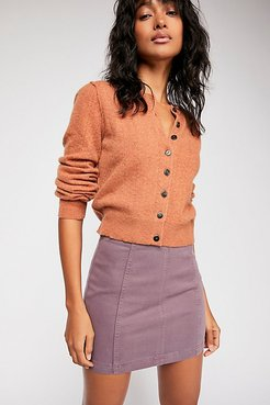 Modern Femme Mini Skirt by We The Free at Free People Denim