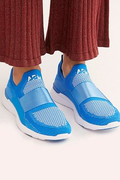 Techloom Bliss Trainer by APL at Free People, Electric Blue / White, US 8