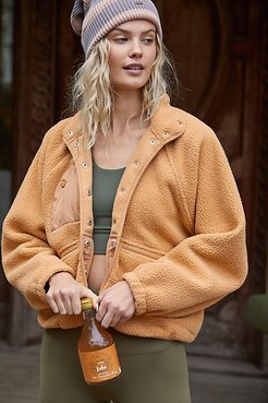 Hit The Slopes Fleece Jacket by FP Movement at Free People, Moroccan Amber, L