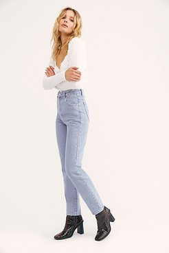 Dusters Jeans by Rolla's at Free People, Heather, 29