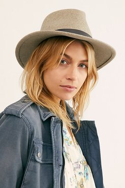 Charleston Felt Hat by Bailey of Hollywood at Free People, Dune Mix, M