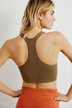 Free Throw Crop by FP Movement at Free People, Army, XS
