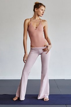 Cheek To Cheek Flare Pants by FP Movement at Free People, Pink Pearl, M