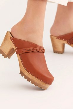 Phoebe Clog by MIA Shoes at Free People, Tan, EU 36
