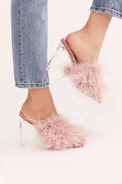 Daisy Heels by Jeffrey Campbell at Free People, Pink, US 7.5