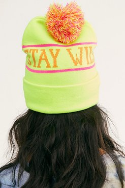 Aiblaster Stay Wild Beanie by Airblaster at Free People, Hot Beanie, One Size