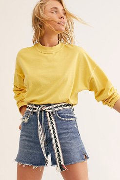 Wrap Belt by Bands of LA at Free People, Black Motif, One Size