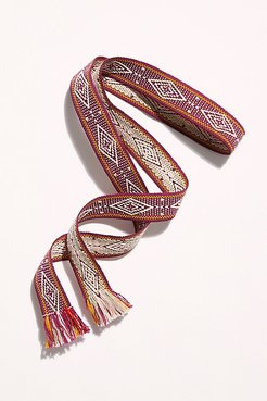 Wrap Belt by Bands of LA at Free People, Bordeaux, One Size