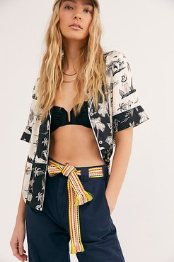 Wrap Belt by Bands of LA at Free People, California Rainbow, One Size