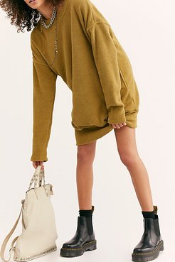 Ellie Leather Studded Backpack by FP Collection at Free People, Bone, One Size