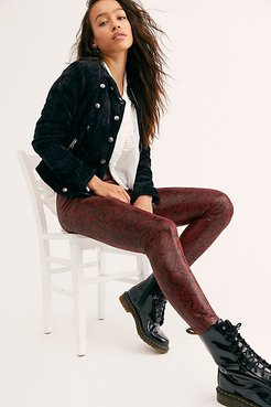 Pull On Vegan Suede Pants by Blank NYC at Free People