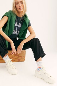 Chuck Taylor All Star Lugged Varsity Converse Sneakers at Free People