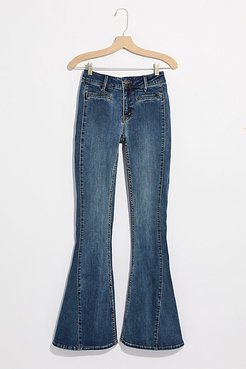 Dream Lover Flare Jeans by We The Free at Free People, True Blue, 32
