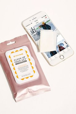 Clean Up Your Act Tech Wipes by Tech Candy at Free People