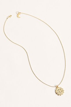 Solar Coin Pendant by Lili Claspe at Free People, Gold, One Size