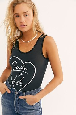Sailor And Lula Tank by Bandit Brand at Free People, Black, L
