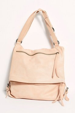 Avery Leather Backpack by FP Collection at Free People, Blush, One Size