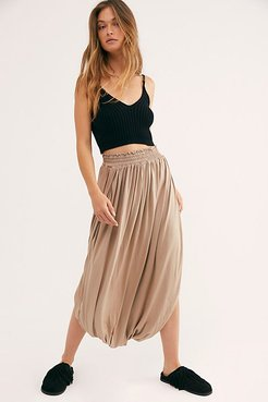 Borrowed From The Sea Skirt by FP Beach at Free People, Doeskin, XS
