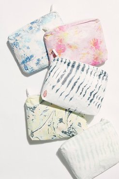FP Movement X Aloha Tie Dye Small Pouch by ALOHA Collection at Free People, Marble, One Size