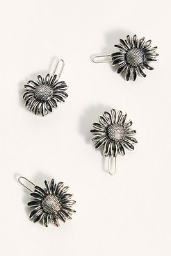Shes A Wildflower Hair Clips by Free People, Sunflower, One Size