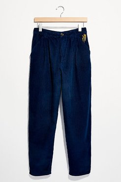 Yardley Trousers by Free People, Sparkling Indigo, US 14
