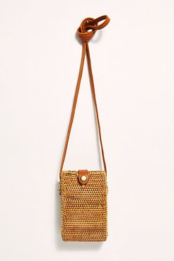 Tina Straw Crossbody by Beachgold at Free People