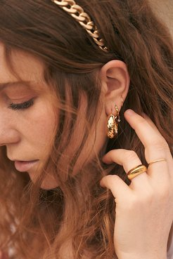 Gina Hoop Earrings by Lili Claspe at Free People, Gold, One Size