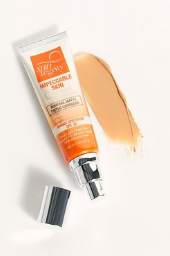 Impeccable Skin Moisturizing Face Sunscreen by Suntegrity at Free People, Tan, One Size