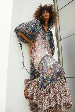 Estelle Chiffon Maxi Dress by Free People, Multi Combo, M