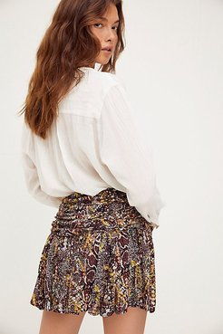 Saturday Sun Mini Skirt by Free People, Day And Night Combo, US 2