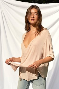 Origami Wrap Blouse by Magnolia Pearl at Free People, Molly, One Size
