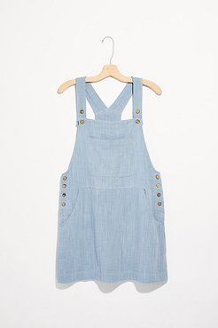 Penny Pinafore Jumper by Endless Summer at Free People, Rain Water, L