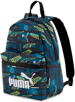 Phase Small Backpack in Digi-blue-Boys AOP