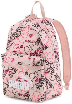 Phase Small Backpack in Peachskin-Girls AOP