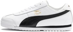Roma '68 Vintage Sneakers in White/Black, Size 13
