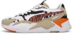 RS-X³ Wildcats Women's Sneakers in Pale Khaki/White, Size 8