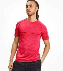 Energy Seamless T-Shirt in High Risk Red Heather, Size XXL