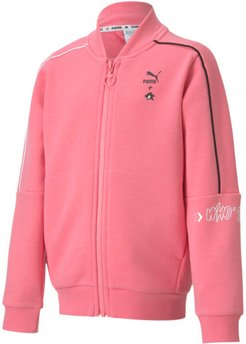 x SONIC Kids' Bomber Jacket in Bubblegum, Size L
