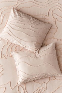 Margot Tufted Floral Sham Set - Pink at Urban Outfitters