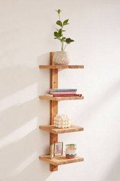 Takara Column Wood Wall Shelf
