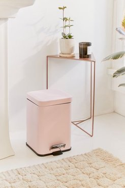 Square Step Trash Can - Pink at Urban Outfitters