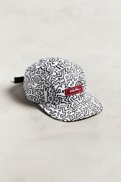 Keith Haring Allover Print Hat - White at Urban Outfitters