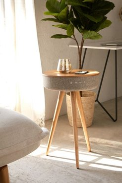 Bluetooth Speaker Table - Brown at Urban Outfitters