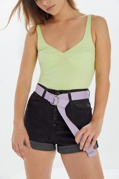 Utility D-Ring Belt - Purple at Urban Outfitters
