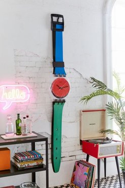 Maxi À Coteé Wall Clock - Assorted at Urban Outfitters