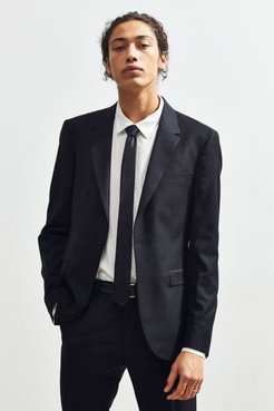 UO Black Skinny Fit Single Breasted Suit Blazer