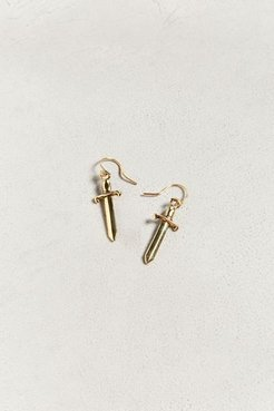 Sworn In Earring - Gold at Urban Outfitters