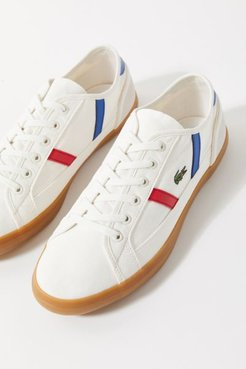 Lacoste Sideline Tricolor Women's Sneaker - White 8.5 at Urban Outfitters